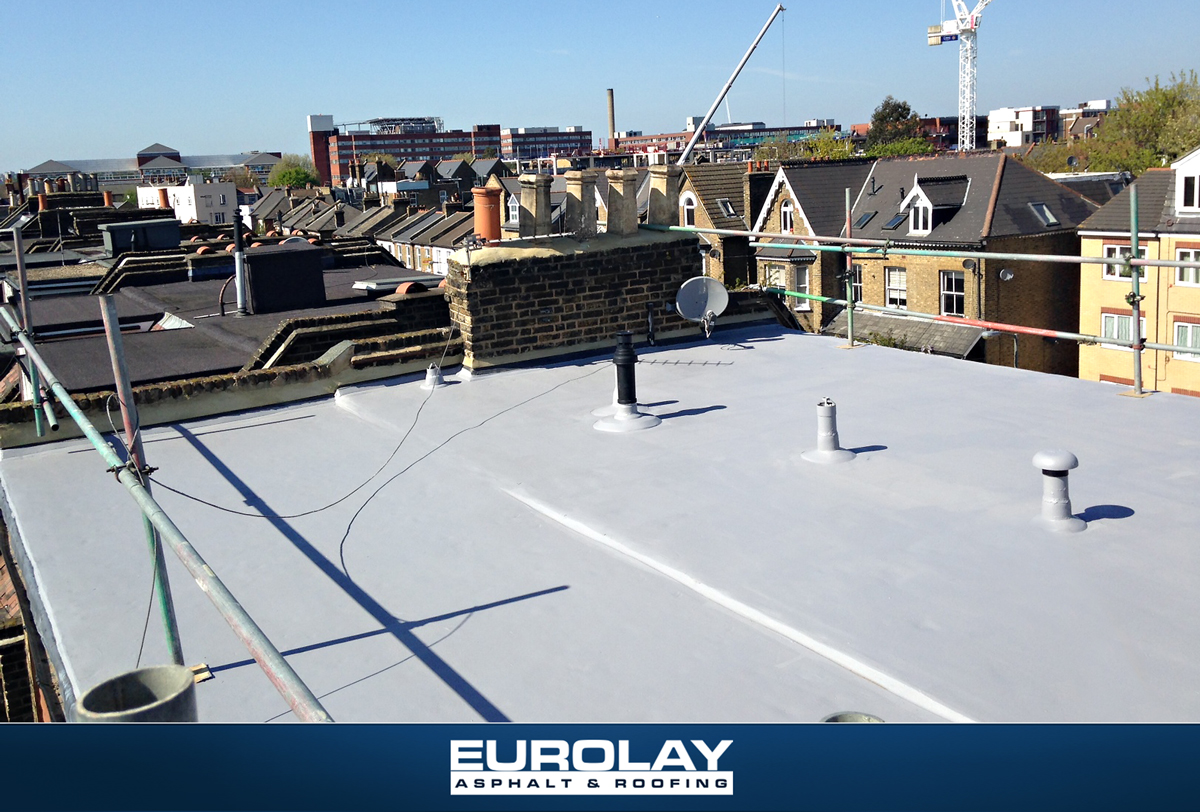 Flat Roof London Book A Roofer In London Eurolay Asphalt And Roofing London Roofer